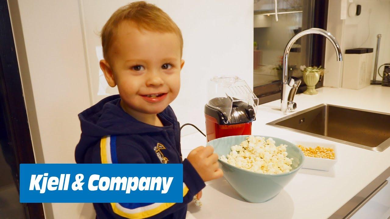 poppa popcorn utan fett