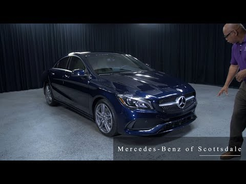 Mercedes Benz Cla >> New design of the 2018 Mercedes-Benz CLA 250 from Mercedes Benz of Scottsdale - YouTube