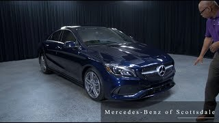 New design of the 2018 Mercedes-Benz CLA 250 from Mercedes Benz of Scottsdale