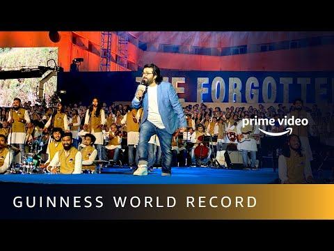 Guinness World Records ®  | The Forgotten Army - Azaadi Ke Liye  | LIVE 1000 And Pritam