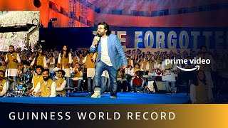 Guinness World Record  | The Forgotten Army - Azaadi Ke Liye  | LIVE 1000 and Pritam