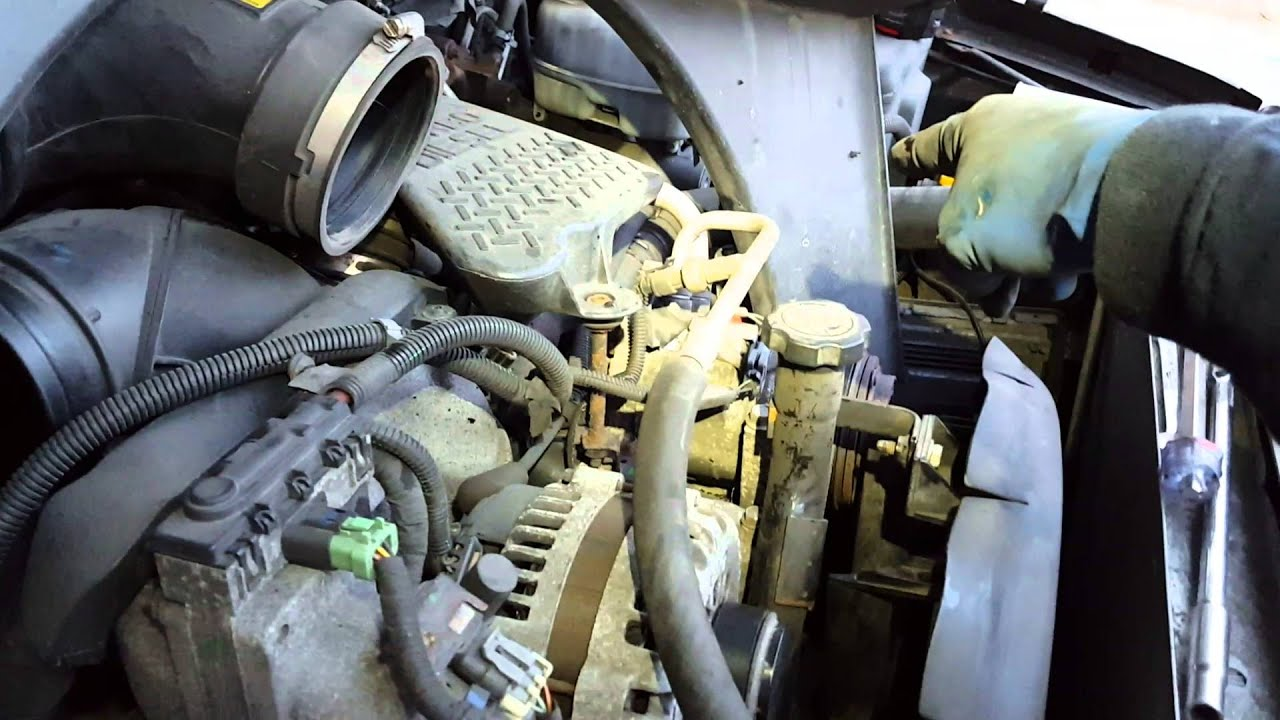 small resolution of 06 chevy 2500 hd 6 6 turbo diesel belt pullies