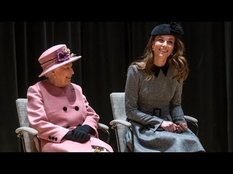 KATE & the Queen reveal sweet family bond during royal engagement