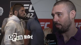 Khabib and Poirier media day reaction | UFC 242 Open Mat preview, episode two