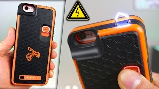 Badass iPhone Stun Gun Case! + Electrocuting Myself⚡️