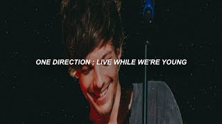 one direction ; live while we