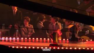 150128 가온차트 K-POP 어워드 방탄소년단 대기석 Piano Man REACTION