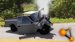 BeamNG.drive - First Looks, Major Destruction