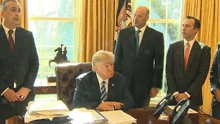 Intel CEO meets with President Trump