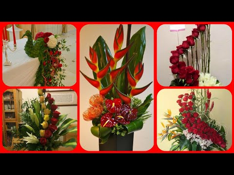 Beautiful flower arrangement home decoration collection