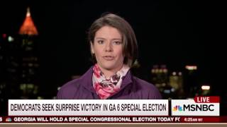 NBC's Kasie Hunt Tries To Make GA-6 Special Election A Competitive Race