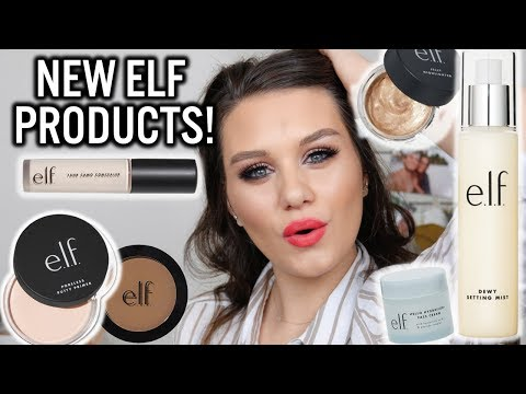 NEW e.l.f. COSMETICS FULL FACE MAKEUP & SKINCARE 2019 | FIRST IMPRESSIONS + WEAR TEST!