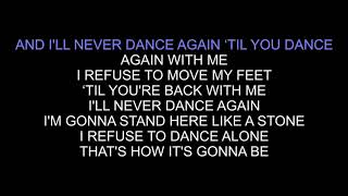 Samantha Harvey - Never Dance Again (karaoke Instrumental version)