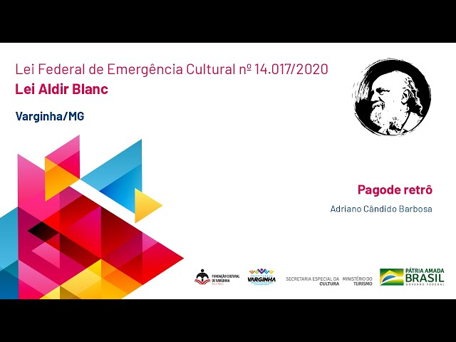 Pagode retrô | Adriano Cândido Barbosa