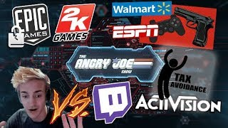 AJS News - 2K Bully Tactics, Walmart on Games, AngryJoe in the News, Ninja vs Twitch & Epic Sued!