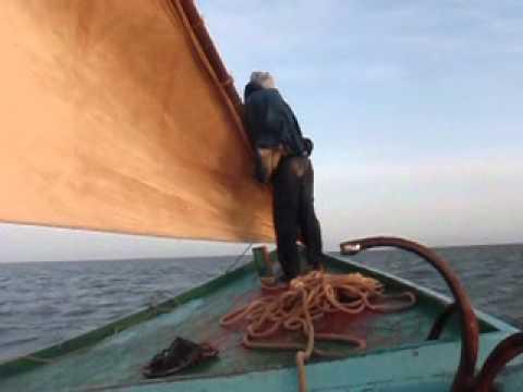 Boat travel to Tidra island, PN Banc d'Arguin, Mauritania