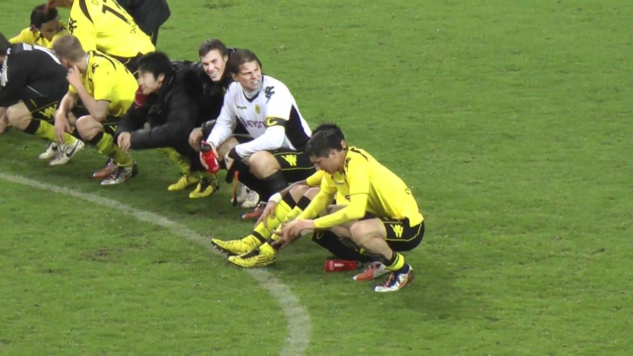 Borussia Dortmund - HSV 2-0 Stimmung nach Abpfiff BVB   [HD]