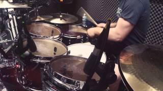 Dan Presland (Ne Obliviscaris) As Icicles Fall drum play through