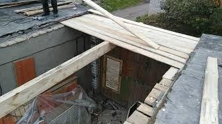 бюджетный капитальный ремонт крыши гаража