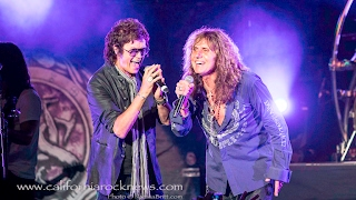 "WHITESNAKE GLENN HUGHES DAVID COVERDALE ""You Keep On Moving"" THE SABAN THEATER 6/9/2015"