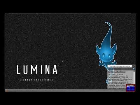 Lumina Desktop for OpenBSD