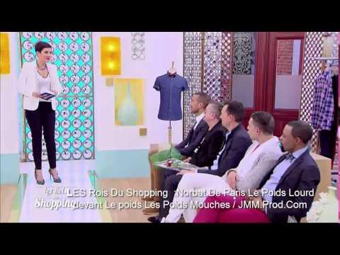 Les rois du shopping Norbert fait le show et est sacré roi du shopping