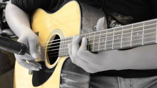 Oasis - Live Forever (Acoustic Guitar Solo)