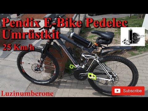 Pendix EDrive | Umbau | Montage |  E-Bike | Pedelec | CONWAY