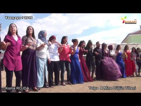 """Tolga & Mine Düğün Töreni Koma Rojda """"""""Gowend 1"""""""" Yazıçayır / Kulu 2016"""