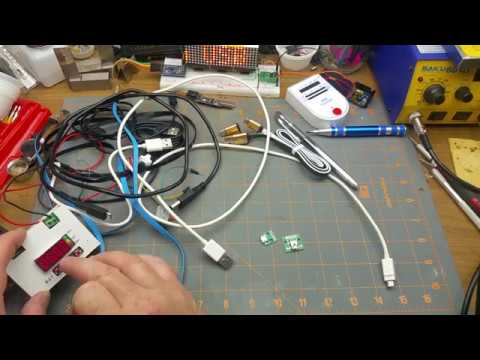 Testing USB Charging Cables
