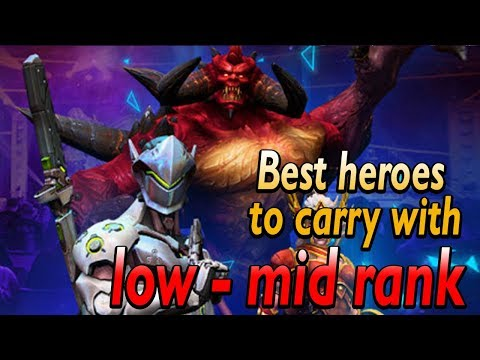 What Are The Best Heroes To Carry In Low Ranks?