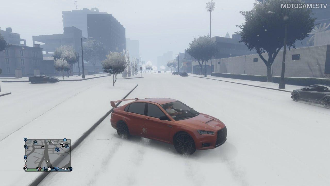 gta v online christmas 2016 snow ps3x360 youtube - Gta V Christmas