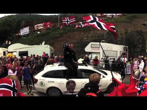 TdF 2013: Norskesvingen i Alpe d'Huez