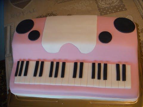 Piano Cake -