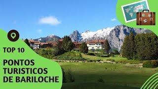 10 pontos turisticos mais visitados de Bariloche