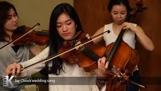 Jay Chou's wedding Song cover by kaleb music creative