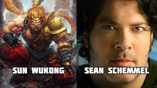 Characters and Voice Actors - Smite