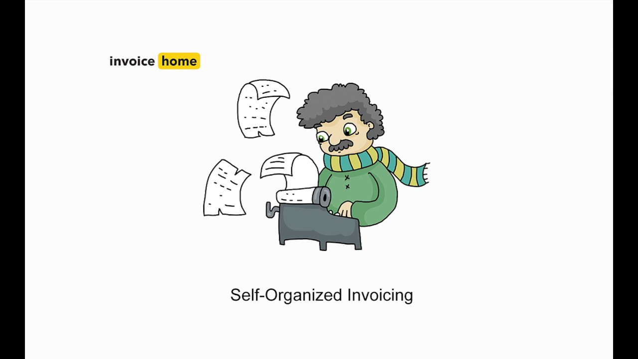 self organized invoicing is here invoicehome com youtube