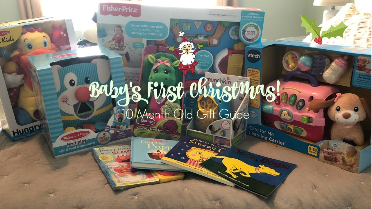 Baby's First Christmas Gift Guide! (10 month old) - YouTube