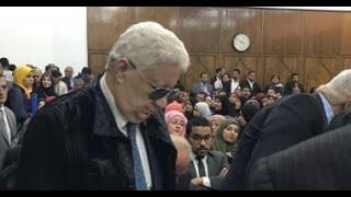 قرارالمستشار مرتضى منصور حول خوض الإنتخابات