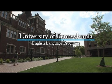 Welcome to The English Language Programs at The University of Pennsylvania