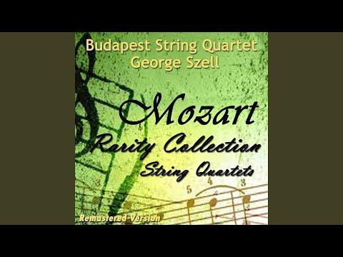 "String Quartet No. 21, In D Major, K. 575, ""Prussian Quartet 1"": II. Andante"