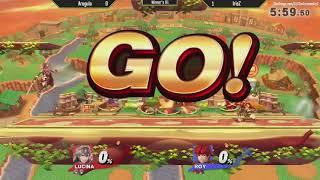 ESV Smash 4 Weekly #5 - IrisZ (Roy) vs Arugula (Lucina) - WR1