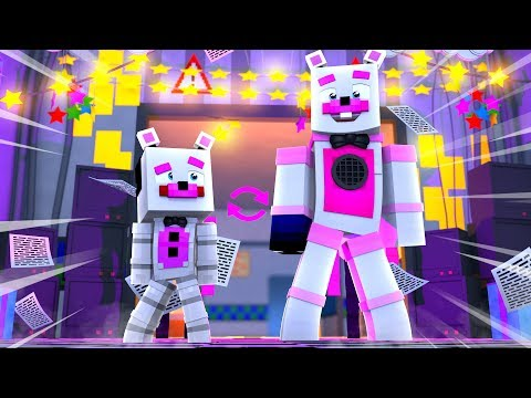 Helpy and Funtime Freddy Switch Bodies! Minecraft FNAF Roleplay