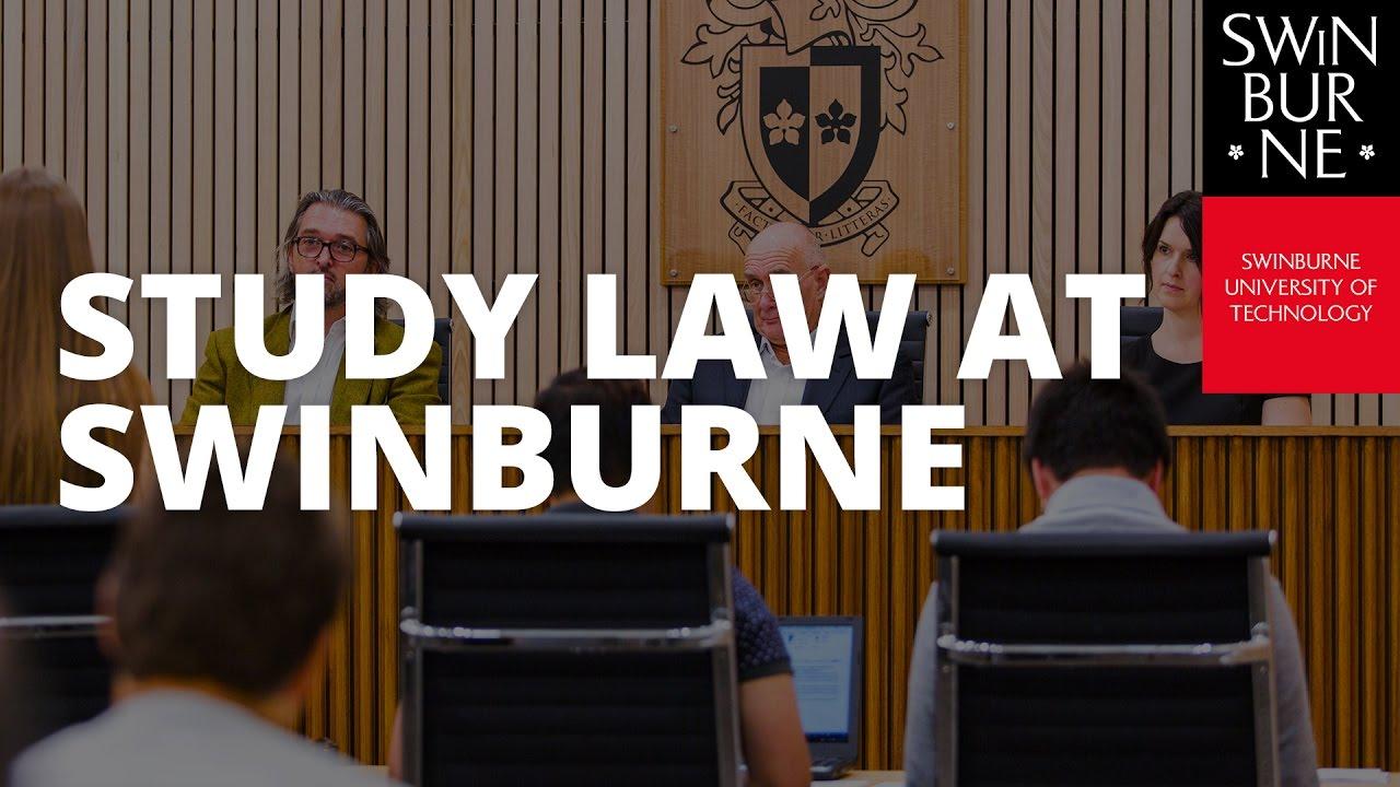 Study Law at Swinburne YouTube