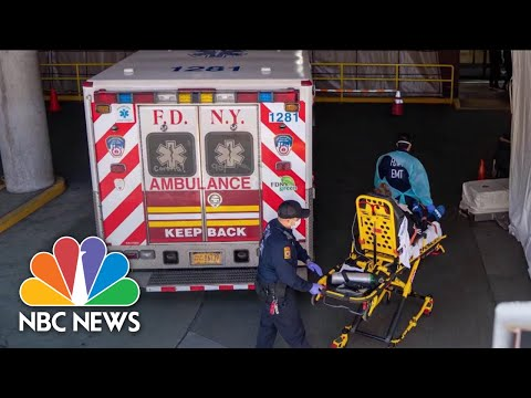 New York State Suffers Deadliest Day Since COVID-19 Outbreak | NBC News NOW