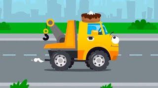 Эвакуатор и Полицейская Погоня - Истории Машинок - Мультфильмы для детей