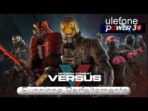 Ulefone Power 3S Fiz o Teste com Game: Modern Combat Versus - Android