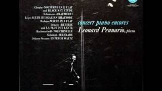 Brahms - Leonard Pennario, 1955: Waltz in A flat, Op. 39, No. 15 - Capitol Records, P8338