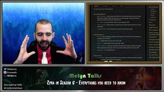 Melyn Talks Zyra in Season 8 (AKA Runes Reforged!)